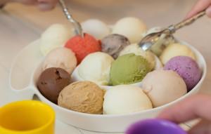 Eis selber machen - verschiedene Eissorten